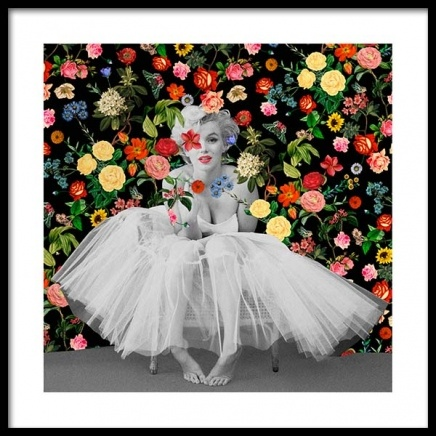 Marilyn Ballerina Poster in the group Prints / Art prints at Desenio AB (3459)