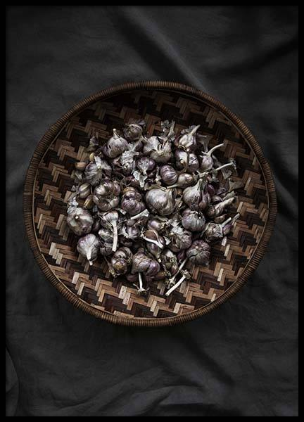 Garlic No2 Poster in the group Prints / Kitchen at Desenio AB (3484)