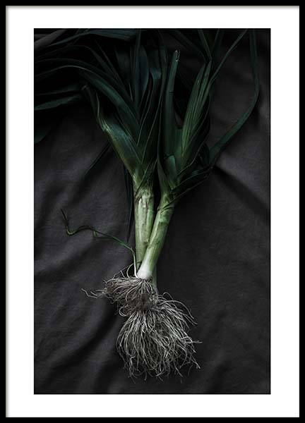 Leek Poster in the group Prints / Sizes / 50x70cm | 20x28 at Desenio AB (3489)