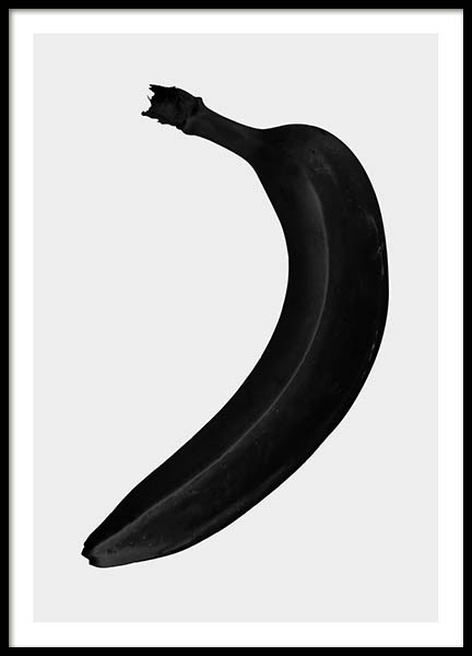 Black banana Poster in the group Prints / Sizes /  at Desenio AB (3518)