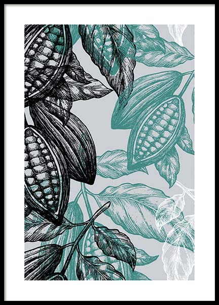 Cacao one Poster in the group Prints / Sizes / 50x70cm | 20x28 at Desenio AB (3521)