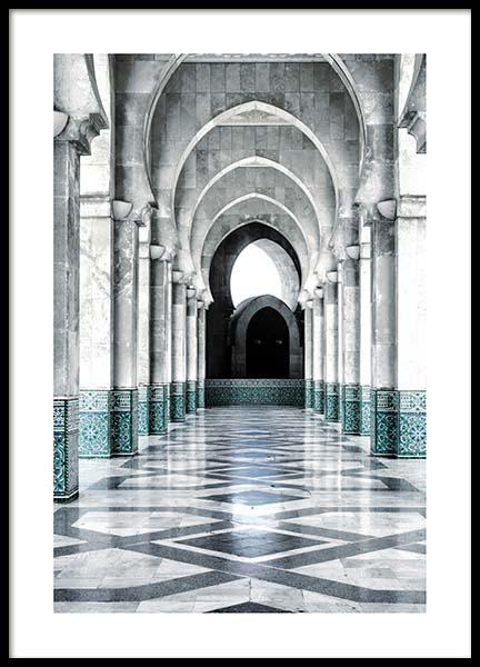 Morocco Arch Poster in the group Prints / Photographs at Desenio AB (3559)
