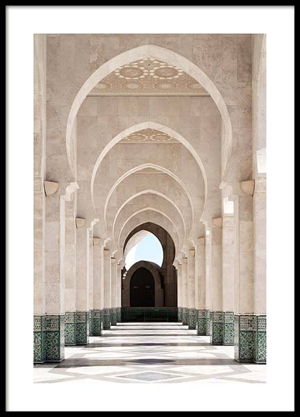 Morocco Arcade Poster in the group Prints / Photographs at Desenio AB (3561)
