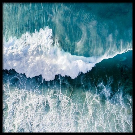 Ocean Wave Poster in the group Prints / Nature at Desenio AB (3568)