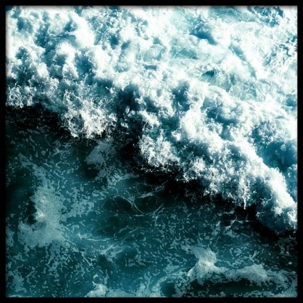 Stormy sea Poster in the group Prints / Sizes / 50x50cm | 20x20 at Desenio AB (3570)