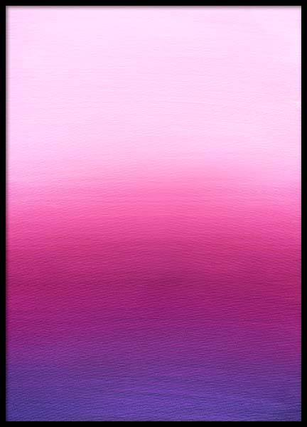 Pink Gradient Poster in the group Prints / Art prints at Desenio AB (3594)