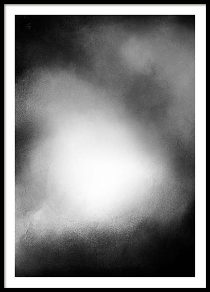 Black fade no2 Poster in the group Prints / Sizes / 50x70cm | 20x28 at Desenio AB (3597)
