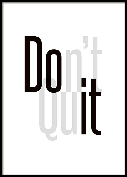 Do It Poster in the group Prints / Sizes / 30x40cm | 12x16 at Desenio AB (3661)