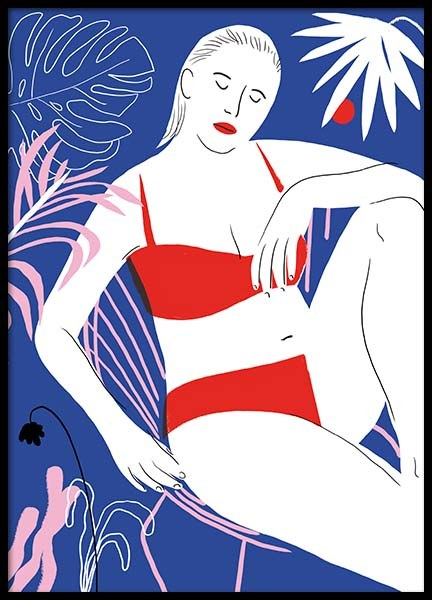 Hot Hot Summer 1 Poster in the group Prints / Sizes / 50x70cm | 20x28 at Desenio AB (3756)