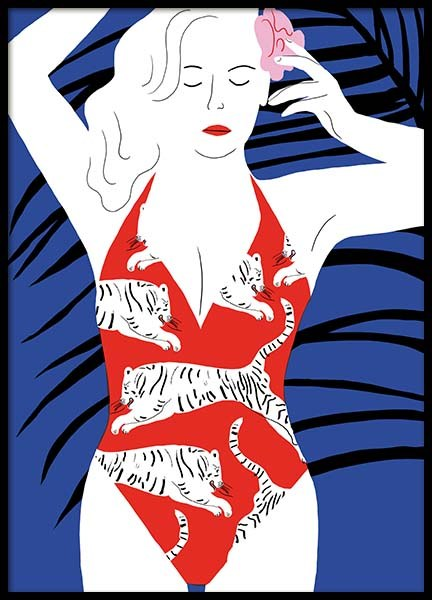 Hot Hot Summer 2 Poster in the group Prints / Art prints at Desenio AB (3757)