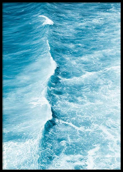 Blue Wave Poster in the group Prints / Nature at Desenio AB (3825)