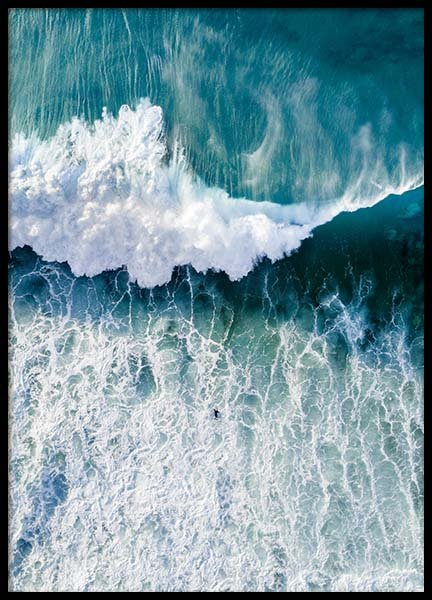Surfers Wave Poster in the group Prints / Nature at Desenio AB (3827)