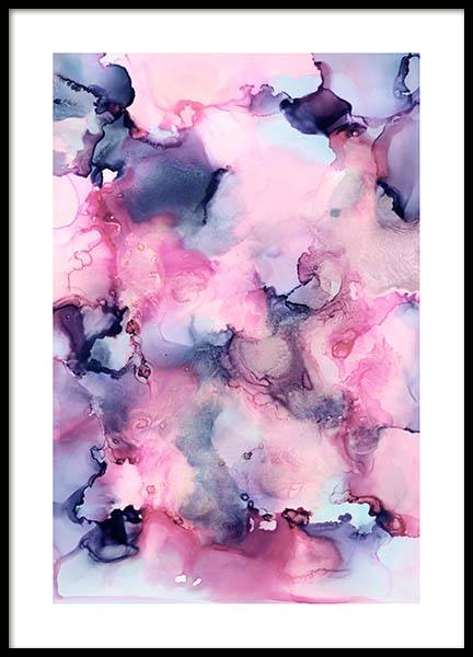 Pink Aesthetic Poster in the group Prints / Art prints / Abstract art at Desenio AB (3837)