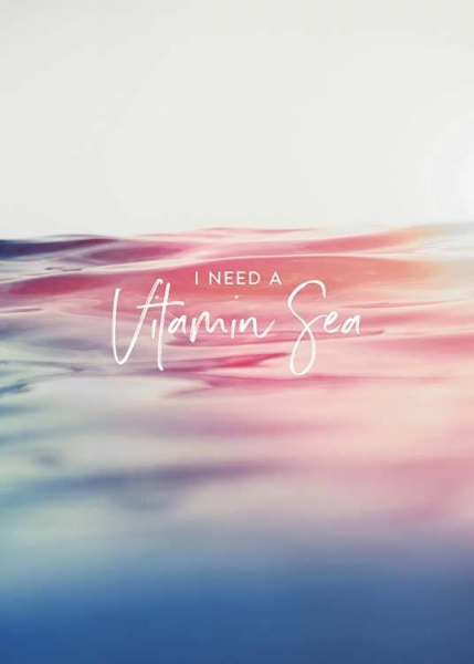 Vitamin Sea Poster in the group Prints / Sizes / 50x70cm | 20x28 at Desenio AB (3862)