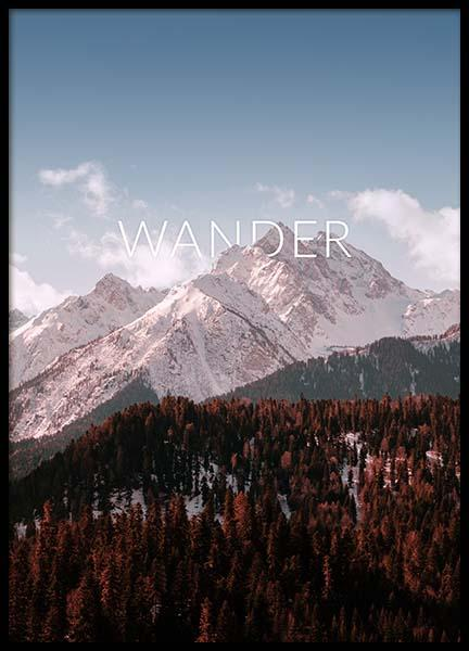 Wander Poster in the group Prints / Nature at Desenio AB (3863)