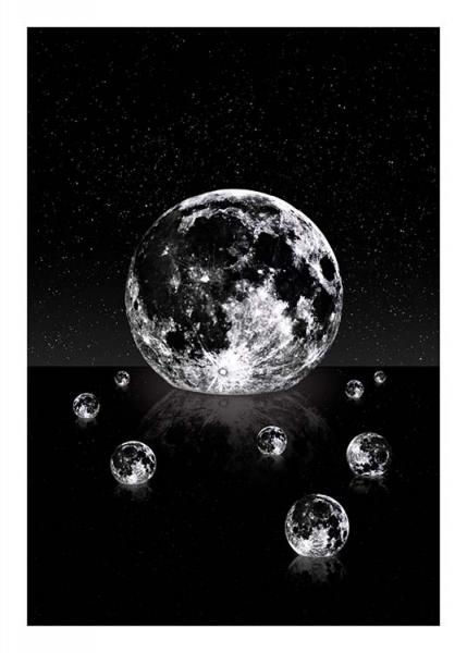 Moon Reflections Poster in the group Prints / Graphical at Desenio AB (3866)