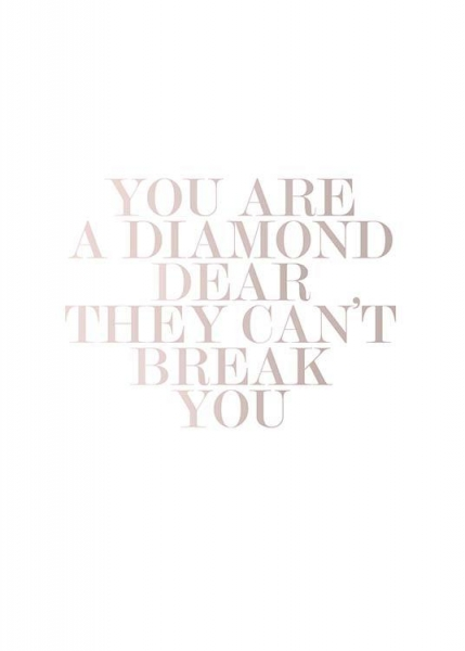 You Are A Diamond Poster in the group Prints / Sizes /  at Desenio AB (3941)