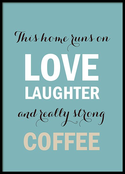 Kitchen wall art with coffee, posters and prints for kitchen decor