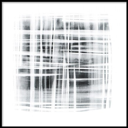 Prints and posters with abstract art in black and white