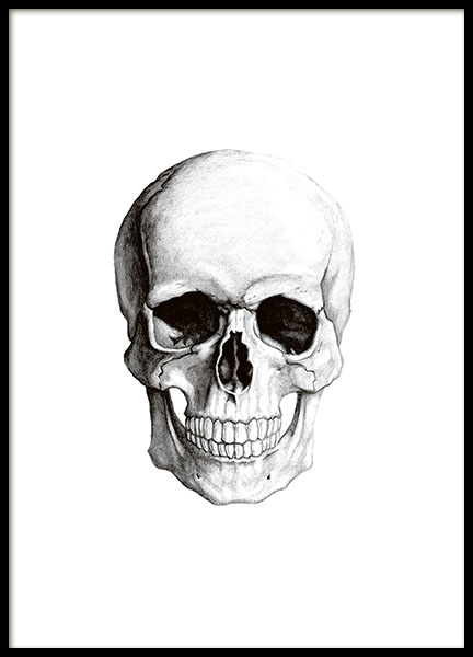 Print with a stylish skull or cranium online