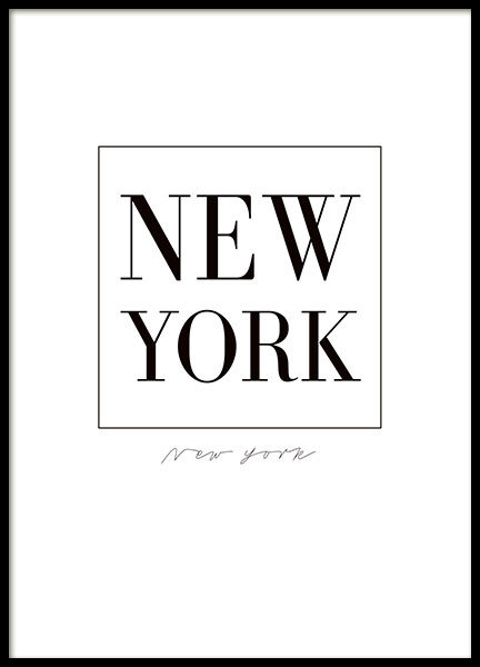 New York prints and posters with cities and maps online
