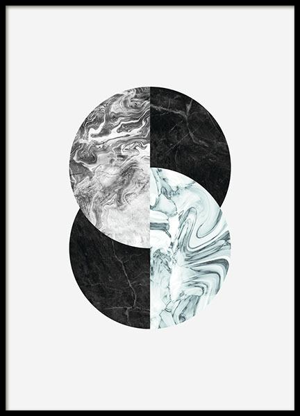 Modern art prints with marble posters uk desenio for Modern art prints posters