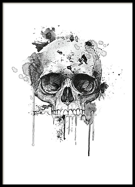 Prints with skull online