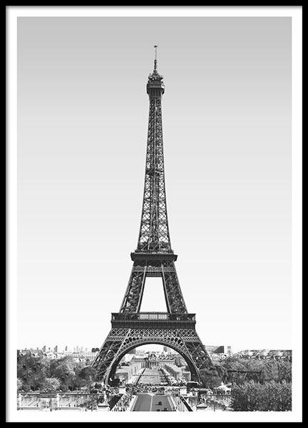 Poster and print of the Eiffel Tower online