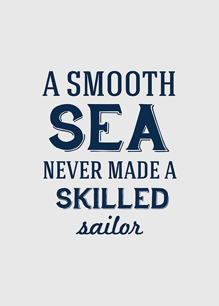 Skilled Sailor, poster in the group Prints / Sizes / 21x30cm | 8x12 at Desenio AB (8373)