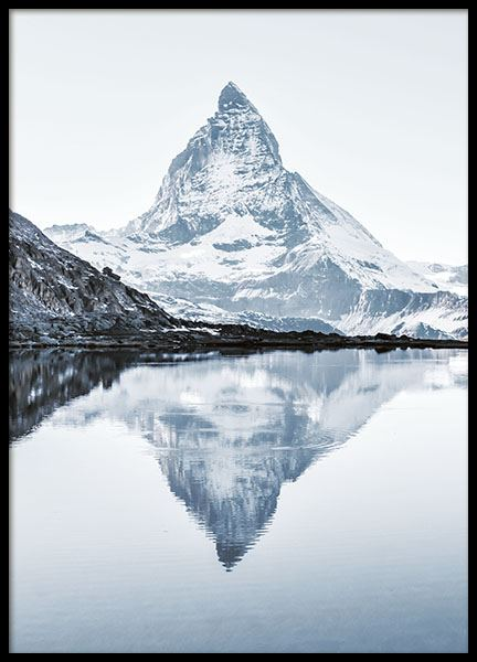 Matterhorn, Poster in the group Prints / Nature at Desenio AB (8389)