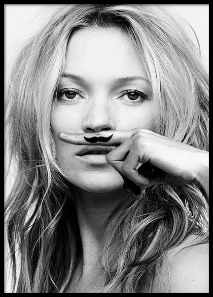 Kate Moss, Life Is A Joke, Print in the group Prints / Fashion at Desenio AB (8422)