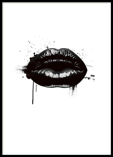 Fashion Lips, Poster in the group Prints / Graphical at Desenio AB (8490)