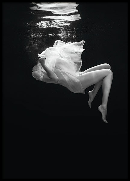 Fallen, poster in the group Prints / Sizes / 50x70cm | 20x28