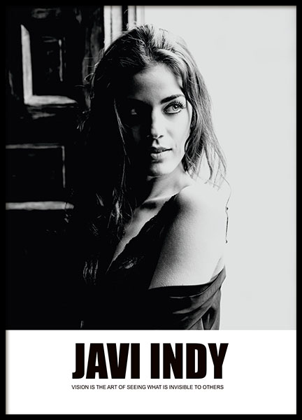 Javi Indy, Poster in the group Prints / Photographs at Desenio AB (8503)