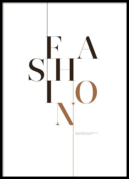 Fashion Page, Posters in the group Prints / Fashion at Desenio AB (8560)