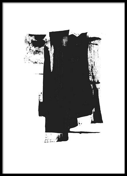 Black Ink, Poster in the group Prints / Art prints at Desenio AB (8602)