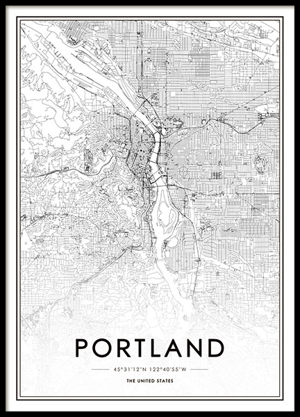 Portland Poster in the group Prints / Sizes /  at Desenio AB (8723)