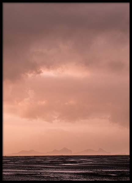 Peach Sky Poster in the group Prints / Sizes / 50x70cm | 20x28 at Desenio AB (8798)