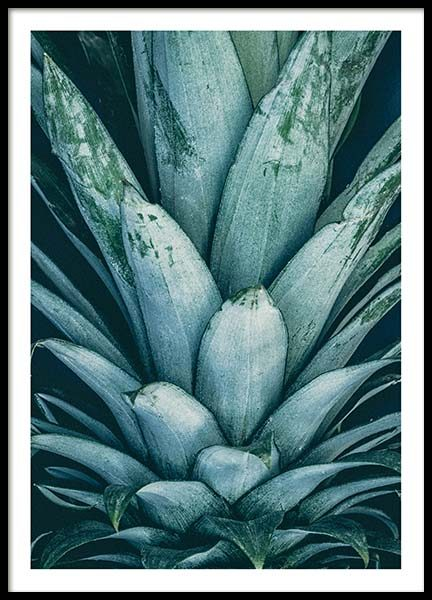 Pineapple Crown Poster in the group Prints / Sizes / 40x50cm | 16x20 at Desenio AB (8811)