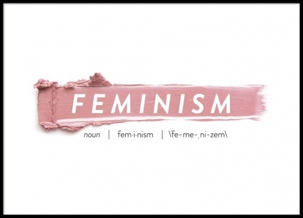 Feminism Poster in the group Prints / Sizes / 50x70cm | 20x28