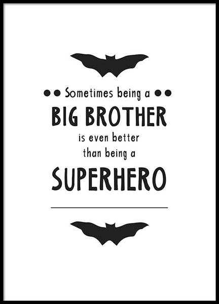 Big Brother Poster in the group Prints / Sizes / 50x70cm | 20x28 at Desenio AB (8872)