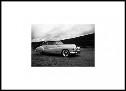 Vintage Car Poster in the group Prints / Photographs at Desenio AB (8889)