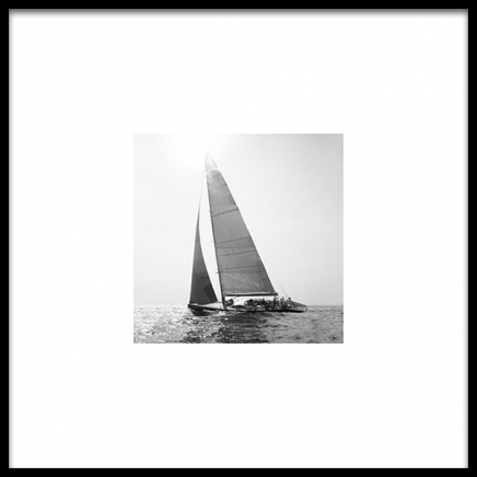 Sailboat Poster in the group Prints / Photographs at Desenio AB (8909)