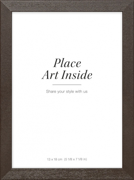 Picture frame in dark wood, 13x18 in the group Picture frames / Brown wood frames at Desenio AB (AAMP50132)