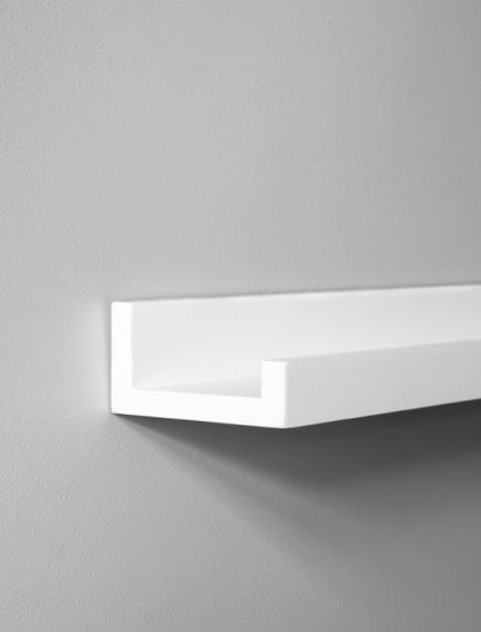White picture ledge 70cm - 28in in the group Accessories / Picture ledge at Desenio AB (AAV50124)