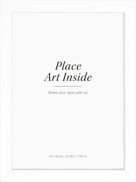 White picture frame, 13x18 in the group Picture frames / Sizes / 13x18cm | 5x7 at Desenio AB (AAVP50108)