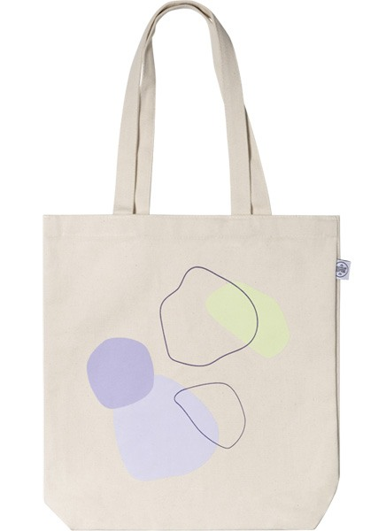 Color Shapes Tote Bag