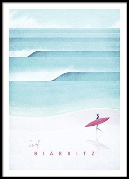 Biarritz Poster in the group Prints at Desenio AB (pre0037)