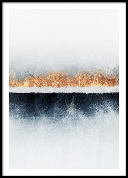 Abstract Horizon Poster in the group Prints / Art prints at Desenio AB (pre0046)