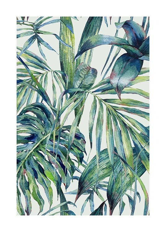 Watercolor Pattern Poster / Art prints at Desenio AB (10127)
